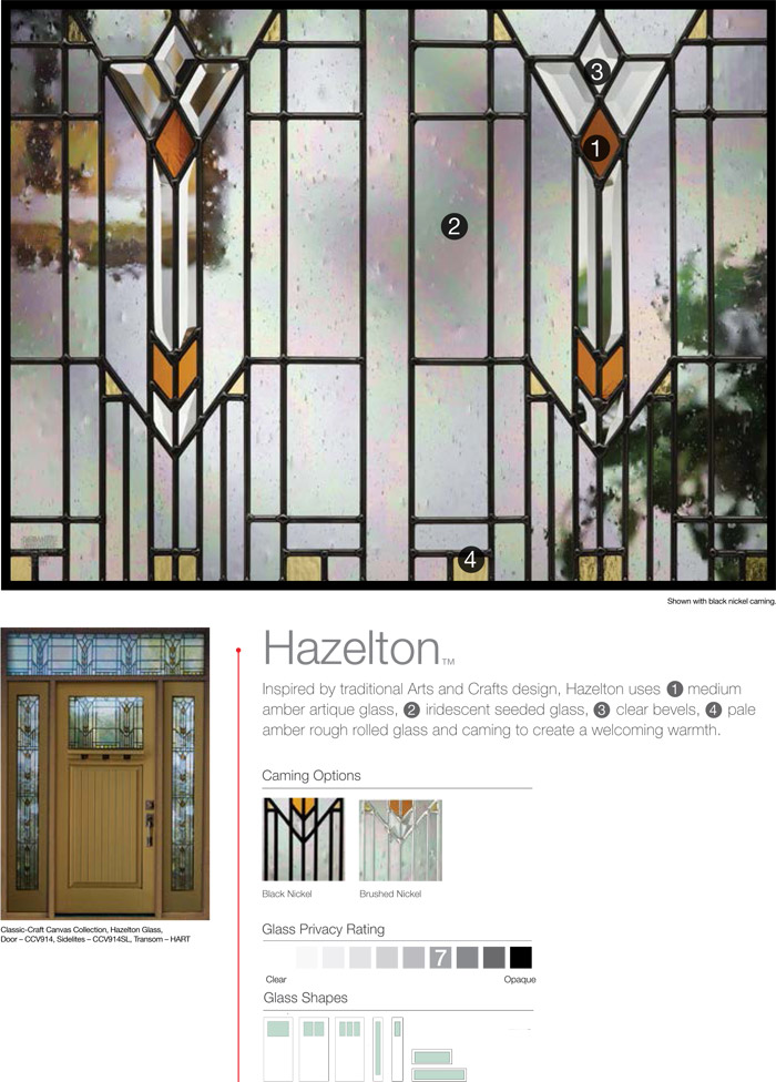 Hazelton Decorative Glass