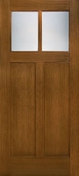 Craftsman Lite 2 Panel Flush-Glazed 2 Lite
