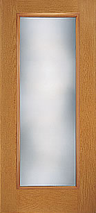 Fiber Classic Oak Hinged Patio Door