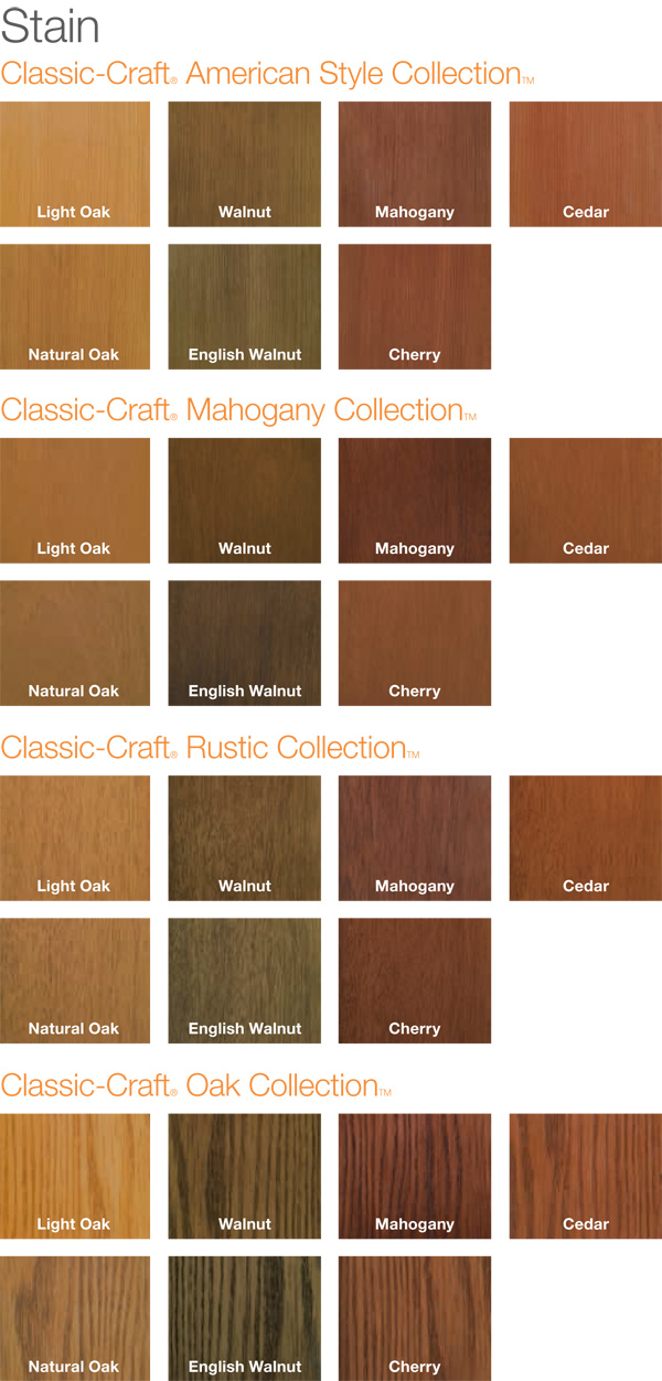 Stain Stained Wood Grain Fiberglass Entry Doors