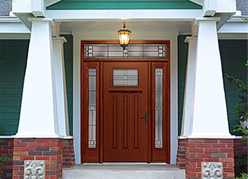 Fiber-Classic® Mahogany Entry Doors