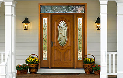 Fiber-Classic® Oak Entry Doors
