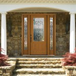 Fiber Classic Oak w/ Salinas Decorative Glass
