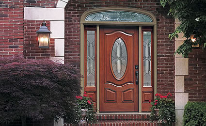 Classic-Craft® Mahogany Entry Doors