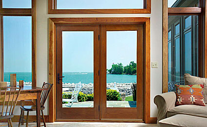 Classic Craft Oak Patio Doors
